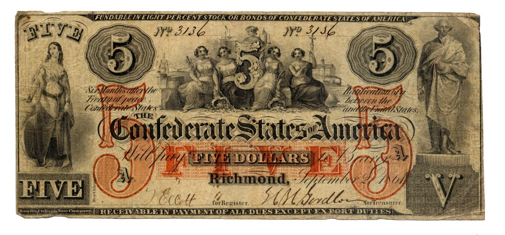 Confederate_5_and_100_Dollars